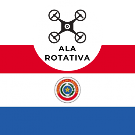 Curso de Pilotaje de Drones ALA ROTATIVA (Paraguay) $ GS